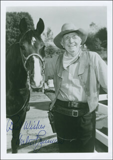 WALTER BRENNAN - AUTOGRAPHED SIGNED PHOTOGRAPH