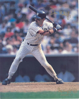 DON MATTINGLY - AUTOGRAPHED SIGNED PHOTOGRAPH