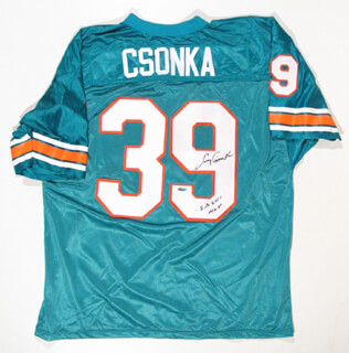LARRY CSONKA - JERSEY SIGNED