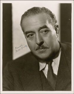 WALTER CONNOLLY - AUTOGRAPHED SIGNED PHOTOGRAPH