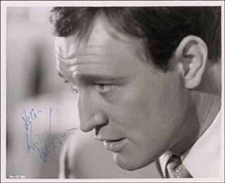 RICHARD HARRIS - AUTOGRAPHED INSCRIBED PHOTOGRAPH