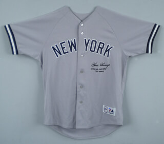 RICH GOOSE GOSSAGE - JERSEY SIGNED