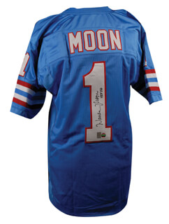 WARREN MOON - JERSEY SIGNED