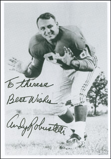 ANDY ROBUSTELLI - AUTOGRAPHED INSCRIBED PHOTOGRAPH