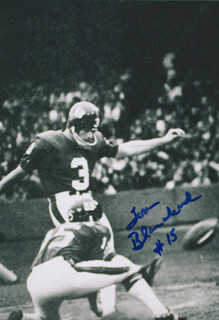 TOM BLANCHARD - AUTOGRAPHED SIGNED PHOTOGRAPH