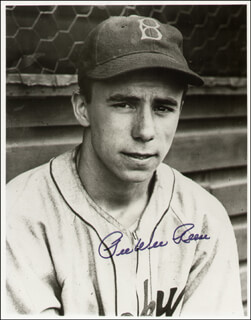 PEE WEE REESE - AUTOGRAPHED SIGNED PHOTOGRAPH