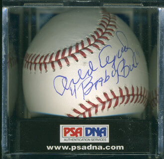 ORLANDO THE BABY BULL CEPEDA - AUTOGRAPHED SIGNED BASEBALL