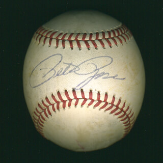 PETE ROSE - AUTOGRAPHED SIGNED BASEBALL