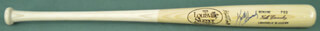 KEITH MEX HERNANDEZ - BASEBALL BAT SIGNED