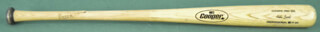 HUBERT BROOKS - BASEBALL BAT (GAME USED) UNSIGNED
