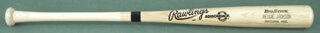 REGGIE MR. OCTOBER JACKSON - BASEBALL BAT SIGNED