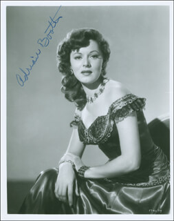 ADRIAN (LORNA GRAY) BOOTH - AUTOGRAPHED SIGNED PHOTOGRAPH
