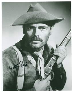 WALTER REED - AUTOGRAPHED SIGNED PHOTOGRAPH