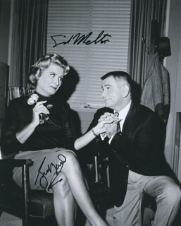 THE DICK VAN DYKE TV CAST - AUTOGRAPHED SIGNED PHOTOGRAPH CO-SIGNED BY: ROSE MARIE, SID MELTON