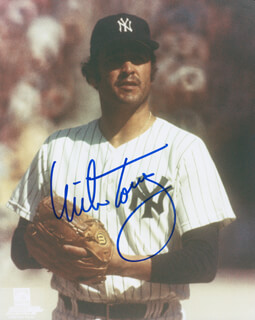 MIKE TORREZ - AUTOGRAPHED SIGNED PHOTOGRAPH
