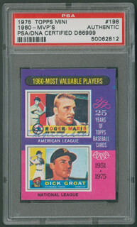 ROGER MARIS - TRADING/SPORTS CARD SIGNED