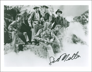 SID MELTON - AUTOGRAPHED SIGNED PHOTOGRAPH