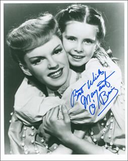 MARGARET O'BRIEN - AUTOGRAPHED SIGNED PHOTOGRAPH