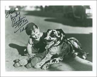 GORDON PORKY LEE - AUTOGRAPHED INSCRIBED PHOTOGRAPH