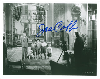 JOE COBB - AUTOGRAPHED SIGNED PHOTOGRAPH