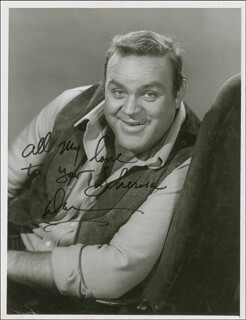 DAN HOSS BLOCKER - AUTOGRAPHED INSCRIBED PHOTOGRAPH