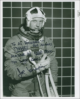 CAPTAIN JOSEPH KERWIN - AUTOGRAPHED INSCRIBED PHOTOGRAPH