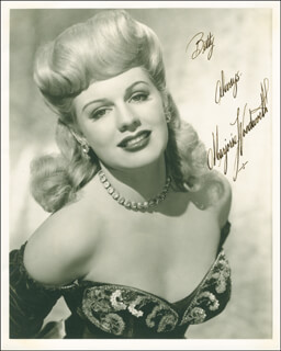MARJORIE WOODWORTH - AUTOGRAPHED INSCRIBED PHOTOGRAPH