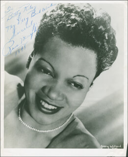 ROSE MURPHY - AUTOGRAPHED INSCRIBED PHOTOGRAPH 1948