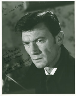 LAURENCE HARVEY - AUTOGRAPHED INSCRIBED PHOTOGRAPH