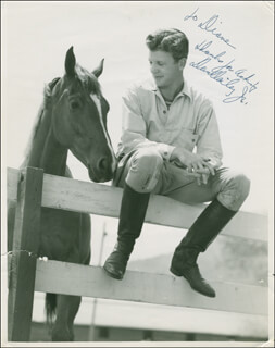 DAN DAILEY - AUTOGRAPHED INSCRIBED PHOTOGRAPH