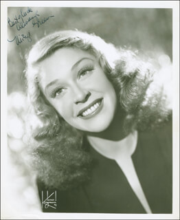 MITZI GREEN - AUTOGRAPHED SIGNED PHOTOGRAPH