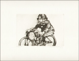 CHARLES BRAGG - ETCHING SIGNED