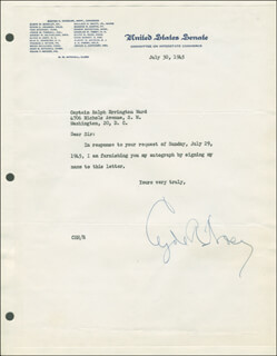 CLYDE R. HOEY - TYPED LETTER SIGNED 07/30/1945