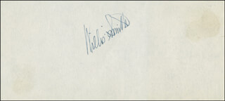 WILLIS SMITH - AUTOGRAPH