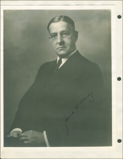 JOSIAH W. BAILEY - AUTOGRAPHED SIGNED PHOTOGRAPH
