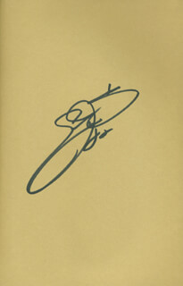 EMMITT SMITH - BOOK SIGNED