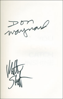 DON MAYNARD - BOOK SIGNED CO-SIGNED BY: MATTHEW SHEPATIN