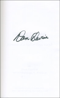 DAN DEVINE - BOOK SIGNED