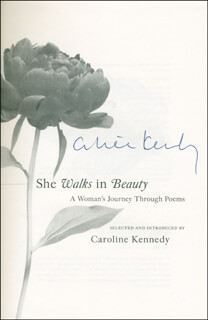 CAROLINE B. KENNEDY - BOOK SIGNED