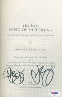 CURT SCHILLING - BOOK SIGNED CO-SIGNED BY: SHONDA SCHILLING