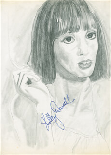 SHELLEY DUVALL - ORIGINAL ART SIGNED