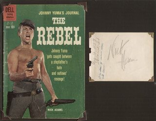 NICK THE REBEL ADAMS - AUTOGRAPH