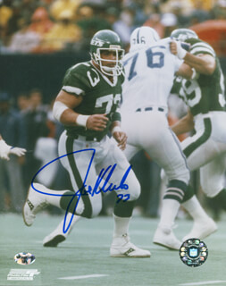 JOE KLECKO - AUTOGRAPHED SIGNED PHOTOGRAPH