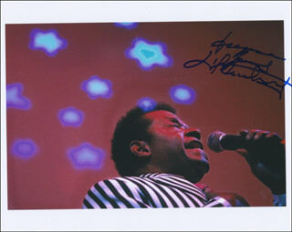 LITTLE ANTHONY AND THE IMPERIALS (ANTHONY GOURDINE) - AUTOGRAPHED SIGNED PHOTOGRAPH
