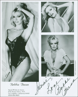 BOBBIE BRESEE - AUTOGRAPHED INSCRIBED PHOTOGRAPH
