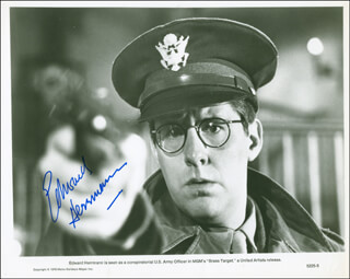 EDWARD HERRMANN - PRINTED PHOTOGRAPH SIGNED IN INK