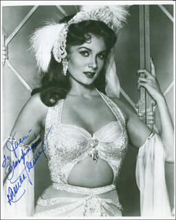 RHONDA FLEMING - AUTOGRAPHED INSCRIBED PHOTOGRAPH