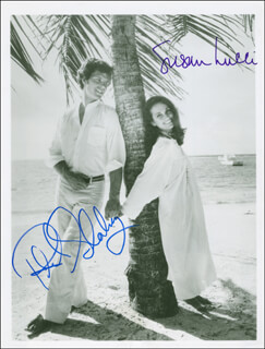 Autographs: ALL MY CHILDREN TV CAST - PHOTOGRAPH SIGNED CO-SIGNED BY: SUSAN LUCCI, RICHARD DICK SHOBERG