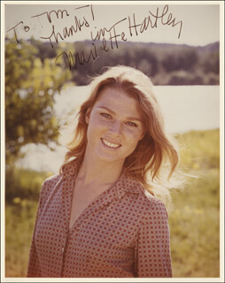 MARIETTE HARTLEY - AUTOGRAPHED INSCRIBED PHOTOGRAPH