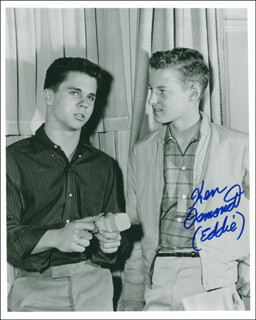 KEN OSMOND - AUTOGRAPHED SIGNED PHOTOGRAPH